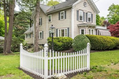 Reading Single Family Home For Sale: 43 Prospect Street