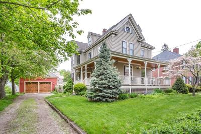 Quincy Single Family Home Contingent: 100 Merrymount Rd