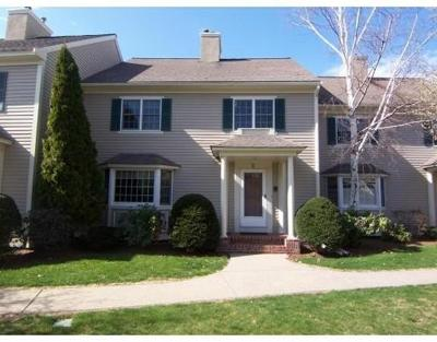 Westborough Condo/Townhouse Under Agreement: 5 Powder Hill Way #5