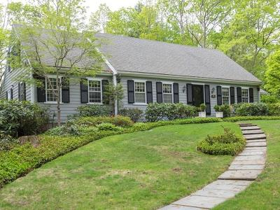 Wellesley Single Family Home For Sale: 120 Hampshire Rd
