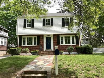 Quincy Single Family Home For Sale: 100 Furnace Brook Parkway