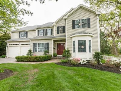 Needham Single Family Home Under Agreement: 66 Taylor Street