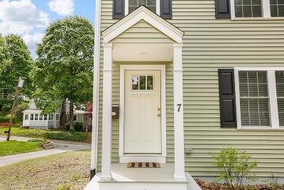 Woburn Single Family Home New: 7 Allen Street #7