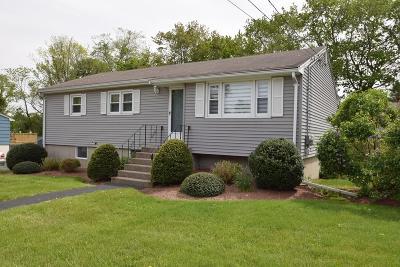 Randolph Single Family Home Under Agreement: 35 Frederickson Dr