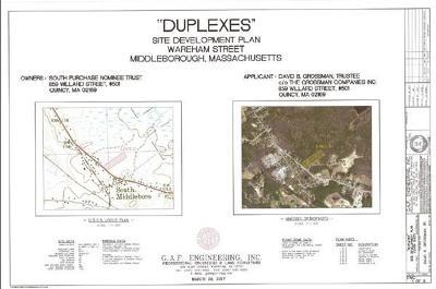Middleboro Residential Lots & Land Under Agreement: Wareham Street