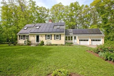 Wayland Single Family Home Under Agreement: 25 Three Ponds