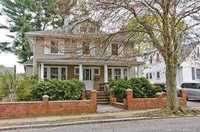 Boston Single Family Home Contingent: 55 Hollywood Rd
