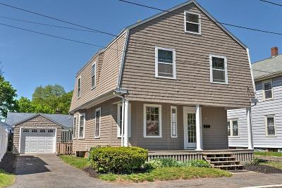 Beverly Single Family Home Contingent: 18 Roosevelt Ave