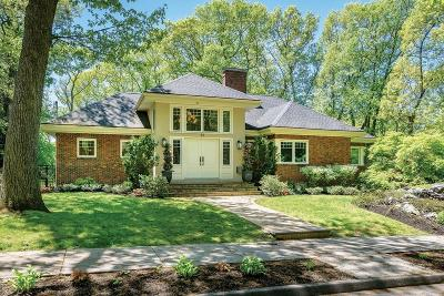 Brookline Single Family Home New: 87 Beverly Rd