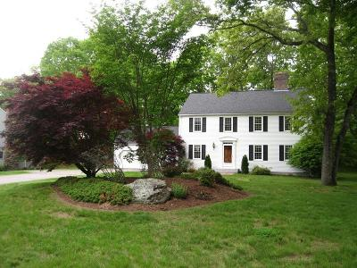 Holliston Single Family Home Contingent: 279 Willowgate Rise