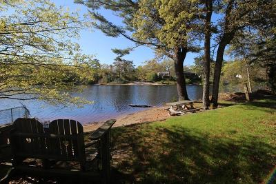 Plymouth Single Family Home For Sale: 131 Lake Dr