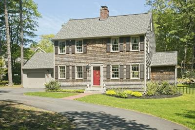 Norwell Single Family Home For Sale: 160 Pine Street