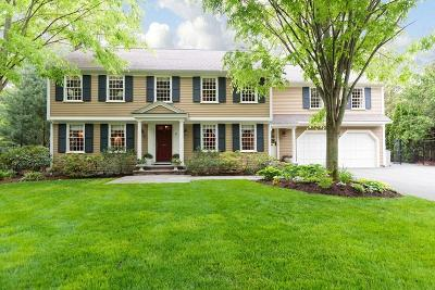 Wellesley Single Family Home Under Agreement: 5 Colgate Road