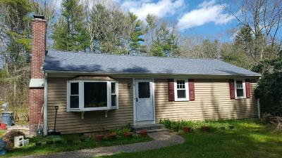 Carver Single Family Home Under Agreement: 66 Pond St