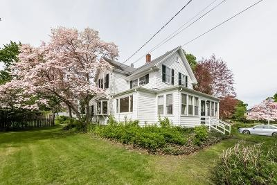 Cohasset Single Family Home Under Agreement: 49 Cushing Rd