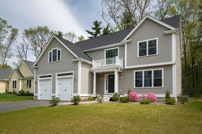 Norwell Single Family Home For Sale: Lot23 Hillcrest Circle #4