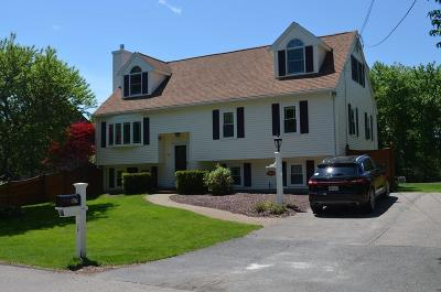 Mansfield Single Family Home Under Agreement: 167 Dean St