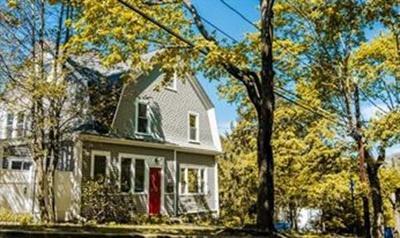 Newton Single Family Home Contingent: 15 Thurston Rd