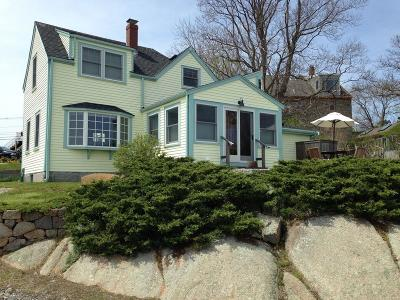 Rockport Single Family Home Contingent: 4 Wharf Road
