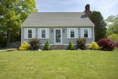 Scituate Single Family Home Under Agreement: 12 Merritt Ln