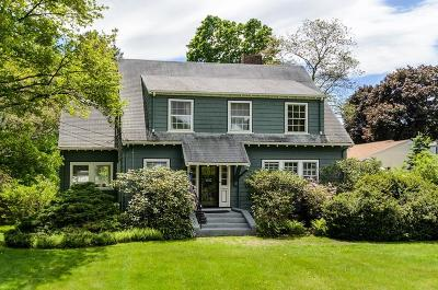 Needham Single Family Home Under Agreement: 1622 Great Plain Ave
