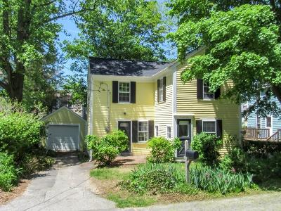 Cohasset Single Family Home Under Agreement: 11 James Ln