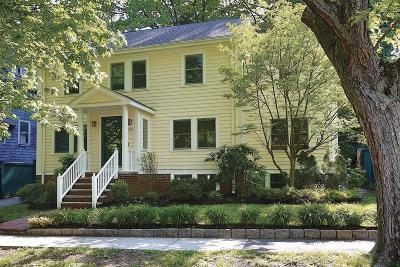 Brookline Single Family Home Under Agreement: 160 Clark Rd