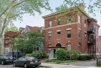 Brookline Condo/Townhouse For Sale: 7 Beals St #1