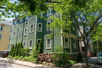 Brookline Condo/Townhouse Under Agreement: 195 Cypress Street #2