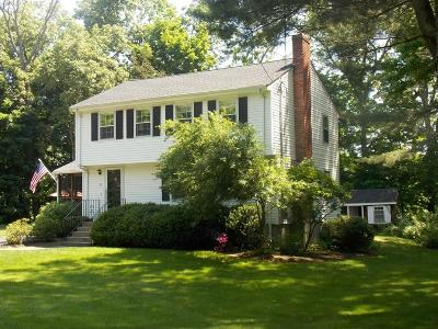 Holliston Single Family Home Under Agreement: 32 Fisher St