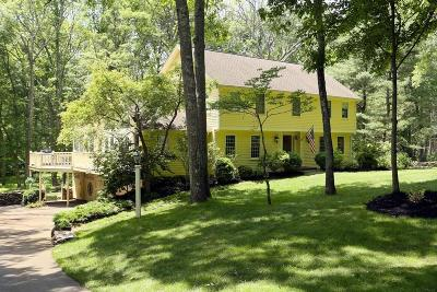 Sherborn Single Family Home For Sale: 60 Bogastow Brook Rd