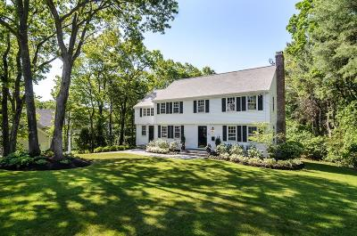 Wellesley Single Family Home Under Agreement: 10 Sturbridge Rd