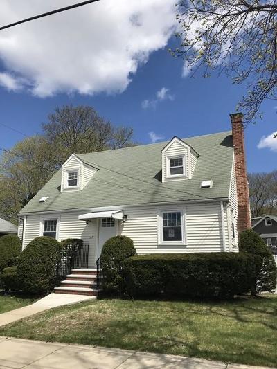 Stoneham Single Family Home Under Agreement: 133 Central Street