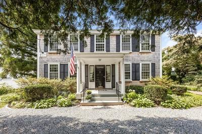 Duxbury Single Family Home For Sale: 534 Washington St