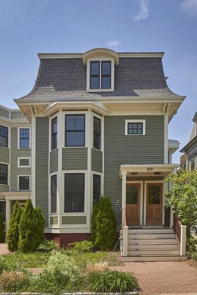 Condo/Townhouse Under Agreement: 109 Inman St #2
