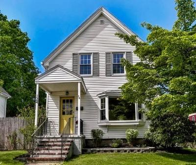 Melrose Single Family Home Under Agreement: 124 Linwood Ave