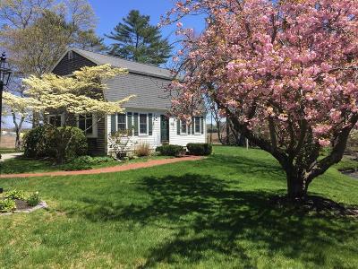 Marshfield Single Family Home Under Agreement: 43 Salt Meadow Waye