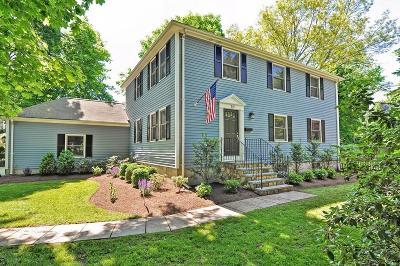 Wellesley Single Family Home Under Agreement: 10 Pilgrim Rd