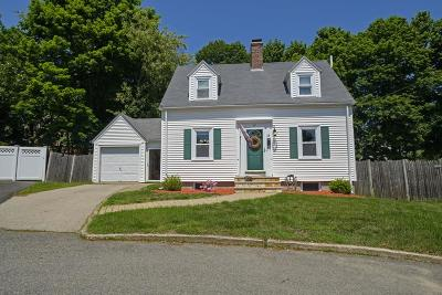 Braintree Single Family Home Under Agreement: 19 Cape Cod Ln