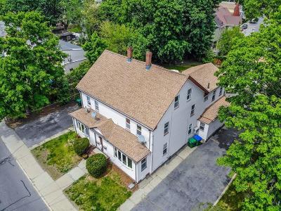 Medford Multi Family Home Under Agreement: 216 Riverside Ave