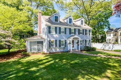 Needham Single Family Home Under Agreement: 1207 Great Plain