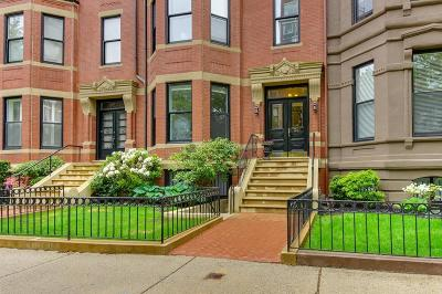 Condo/Townhouse Under Agreement: 341 Beacon St #1B