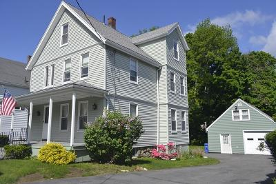 Wakefield Single Family Home Under Agreement: 307 Albion St