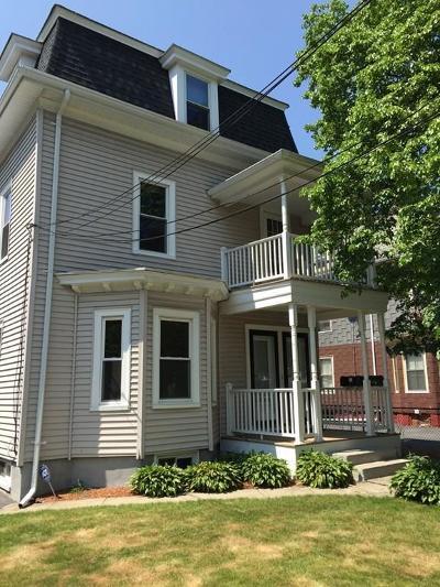 Cambridge Multi Family Home Under Agreement: 27 Walden St