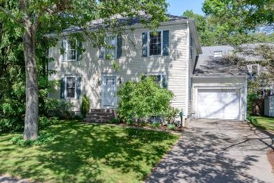 Wellesley Single Family Home Under Agreement: 105 Overbrook Dr