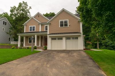 Wellesley Single Family Home Under Agreement: 52 Halsey Avenue