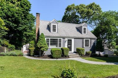Wellesley Single Family Home Under Agreement: 111 Walnut St