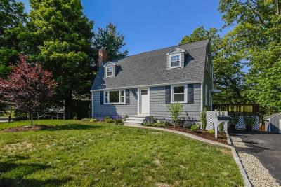 Dedham Single Family Home Price Changed: 184 Vincent Road