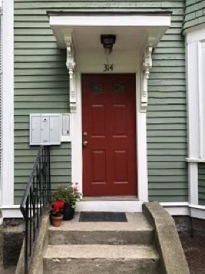Condo/Townhouse Under Agreement: 314 Amory St #3
