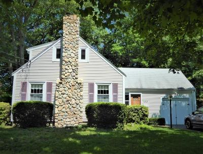 Needham Single Family Home Under Agreement: 100 Valley Road